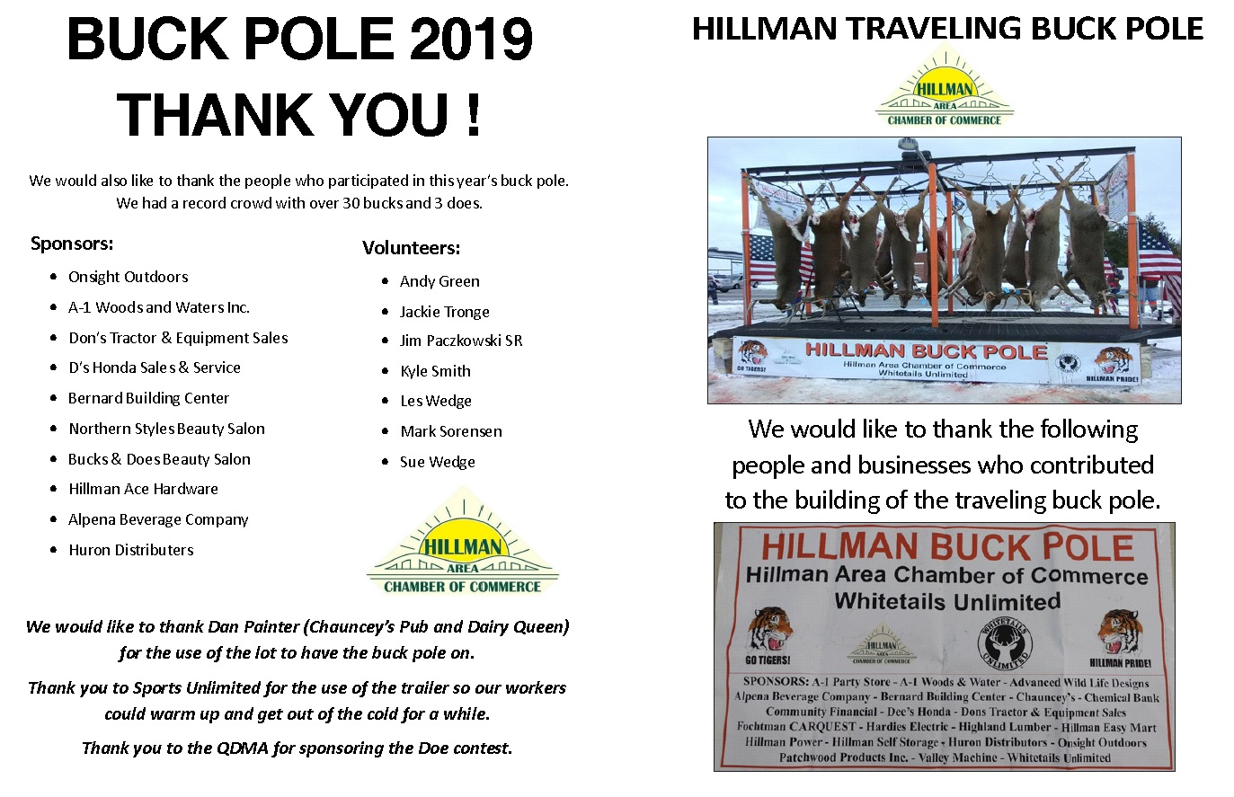 2019 buck pole insert---FROM TRIBUNE----FINAL PROOF - side 2