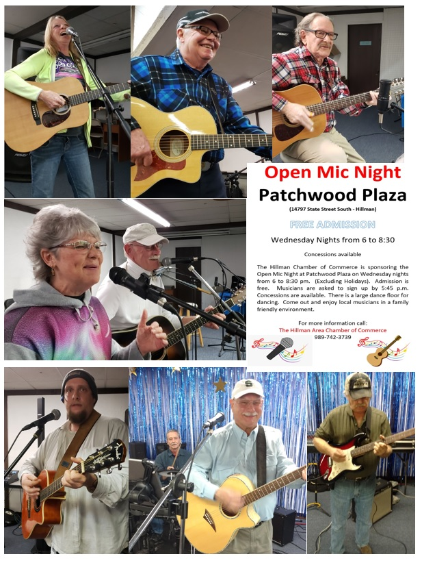 Music Flier - Patchwood - NEW---MOD with Photos