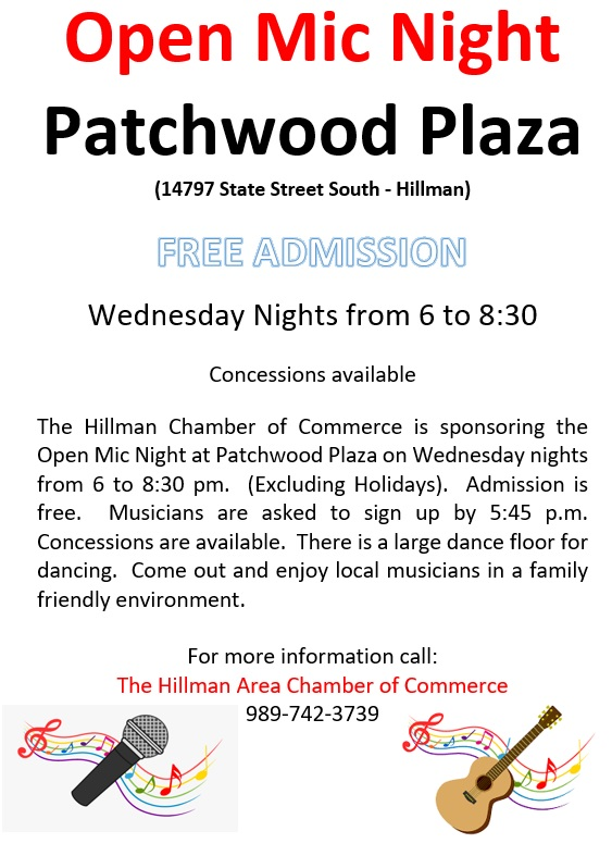 Music Flier - Patchwood - NEW